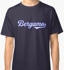 Bergamo - Italy - Italia - Vintage Style Sports Typography Classic T-Shirt