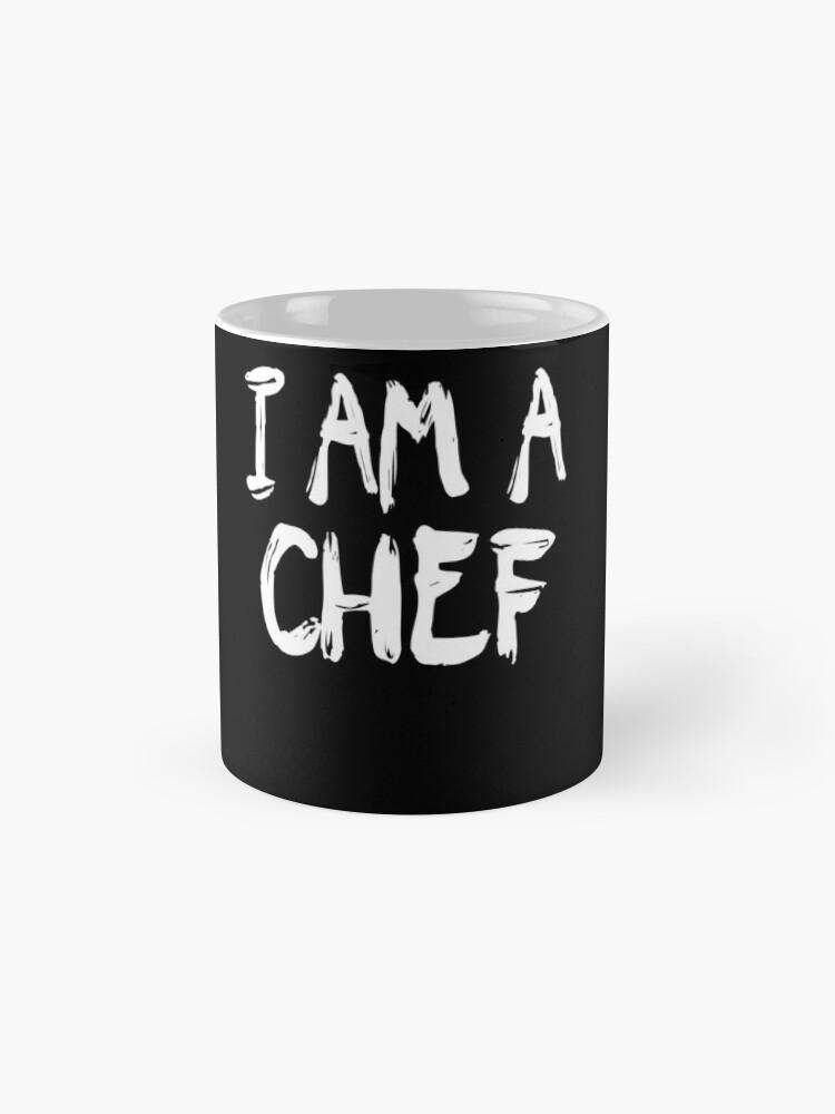 Vista alternativa de Taza I Am A Chef