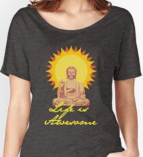 happy buddha Women's Relaxed Fit T-Shirt