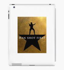 Star Wars - Hamilton Mashup: Han Shot First iPad Case/Skin