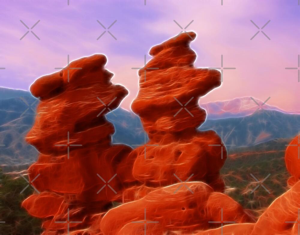 Twin Rocks by Beverlytazangel