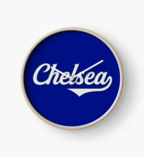 Chelsea - England - Vintage Sports Typography Clock