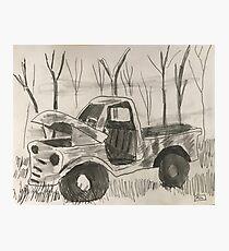 Truck! Photographic Print