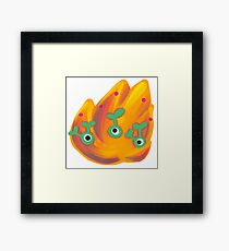 Burn! Burn! Framed Print
