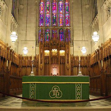 Chancel And Altar by Cynthia48
