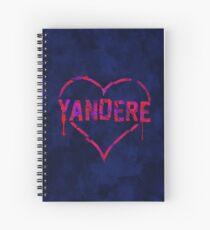 Yandere Spiral Notebook