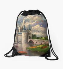 Castle of Dreams Drawstring Bag