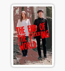 The End of The F***ing World -Tv Show (Stylized)  Sticker