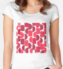 Abstract pattern 33 Women's Fitted Scoop T-Shirt