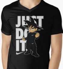 Goku Coats! Men's V-Neck T-Shirt