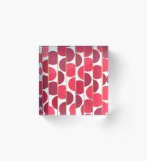Abstract pattern 33 Acrylic Block