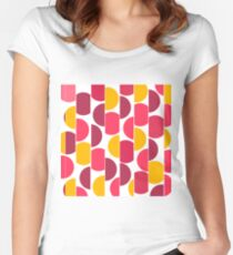Abstract pattern 14 Women's Fitted Scoop T-Shirt