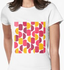 Abstract pattern 14 Women's Fitted T-Shirt
