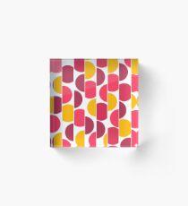 Abstract pattern 14 Acrylic Block