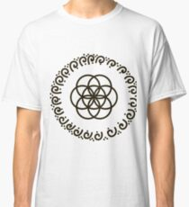 flower of life and sacred geometry Classic T-Shirt