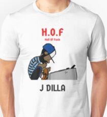 Hall Of Funk J Dilla Hip Hop Rap Top Producer 90's Rap Unisex T-Shirt
