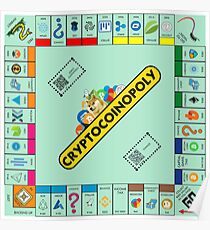 Cryptocoinopoly - Crypto Monopoly Poster
