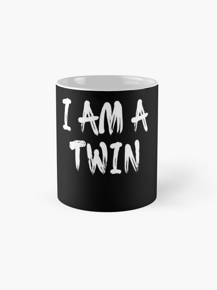 Vista alternativa de Taza I Am A Twin