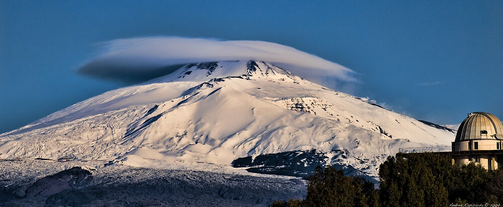 Mt. Etna this morning by Andrea Rapisarda