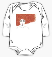 Girl with red hair Kids Clothes