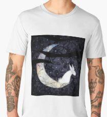 Starlight Bunny Watches the World Men's Premium T-Shirt