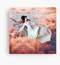 The Free Fall of Hypnagogia Canvas Print