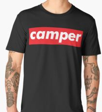 Camper / Words That Mean Something Totally Different When You're A Gamer  Men's Premium T-Shirt
