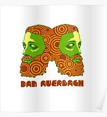 Dan Auerbach Yellow Poster
