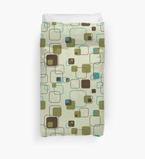 Mid-Century Modern: Groovy Cubes Duvet Cover