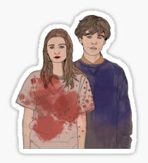 the end of the f***ing world Sticker