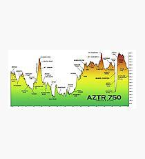AZTR750 Profile Photographic Print