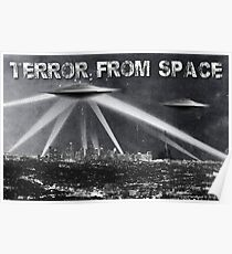 Terror From Space Poster