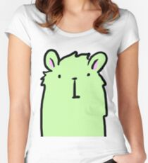 Boris the Llama Women's Fitted Scoop T-Shirt