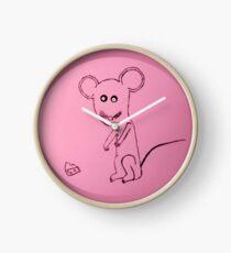 Mouse - Souris - Martin Boisvert Clock