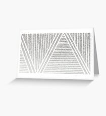 Silverline Greeting Card