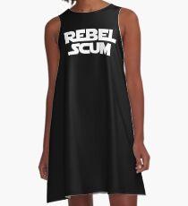 Rebel Scum A-Line Dress