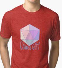 Chaotic Gay Tri-blend T-Shirt