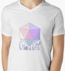 Chaotic Gay Men's V-Neck T-Shirt