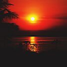Lake Malawi Sunset by heinrich