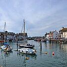 Weymouth Harbour Dorset UK by lynn carter