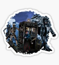lost to the world of machines Sticker