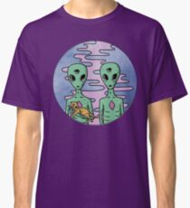 Trippy Cool alien Classic T-Shirt