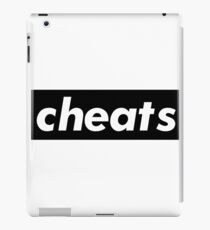 Cheats / Words That Mean Something Totally Different When You're A Gamer  iPad Case/Skin