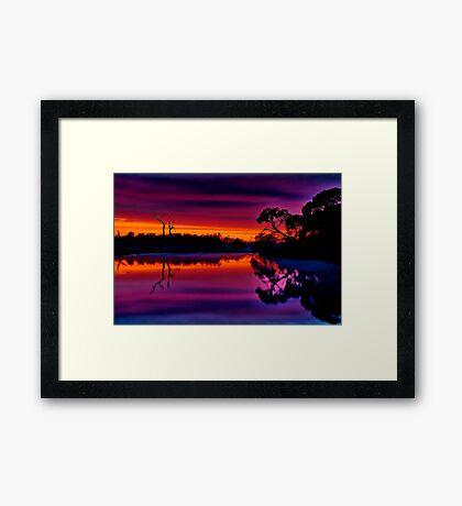 """""""Misty Magical Morning"""" Framed Print"""