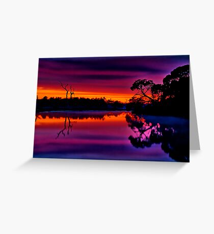 """""""Misty Magical Morning"""" Greeting Card"""