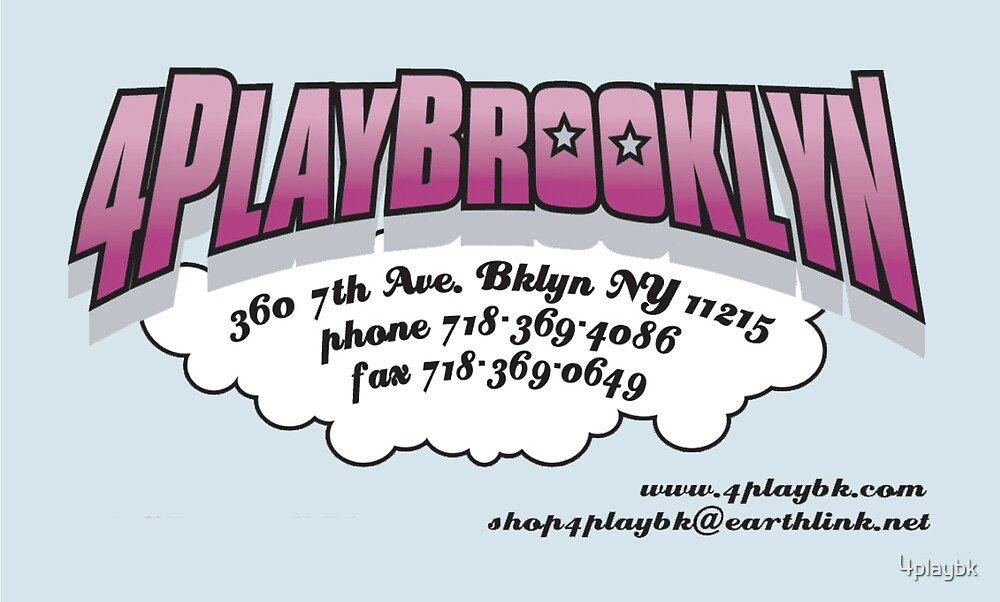 4PLAYBROOKLYN by 4playbk