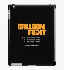 Balloon Fight Title Screen iPad Case/Skin