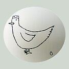 « Hen - Poule - Martin Boisvert » par Martin Boisvert