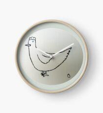Hen - Poule - Martin Boisvert Horloge