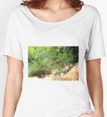 At the top of the waterfall - Luang Prabang, Laos. Women's Relaxed Fit T-Shirt